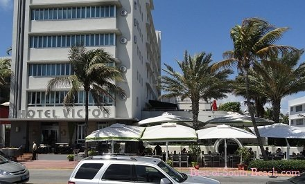 Victor Hotel in South Beach Miami Florida on ocean Drive
